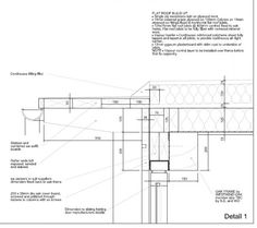 flat roof details | Housing - Renovation : Flat roof - howling gale under warm roof