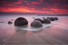 Moeraki Boulders, New Zealand  most beautiful places in the world  close enough...