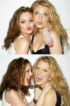 gossip girls. I'd kill for a friendship like this.