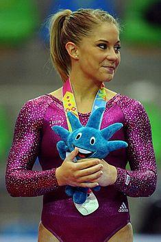 Kids Gymnastics, Gymnastics Posters, Gymnastics Videos, Gymnastics History, Gymnastics Things, Gymnastics Leotards, Shawn Johnson Gymnast, Baby Girl Drawing, 2004 Olympics