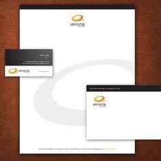 A Black and White Stationery Set Design. #stationery #design  $29.00