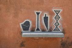 Wall art in Positano