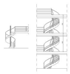 Free Spiral Stair Details U2013 CAD Design | Free CAD Blocks,Drawings,Details