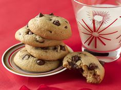 Chocolate Chip Cookies that are perfect for Santa!