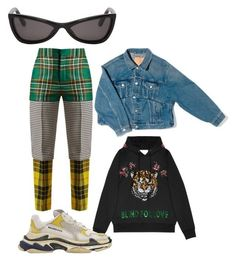 """""""3/12/2018"""" by emerance ❤ liked on Polyvore featuring Balenciaga and Gucci"""