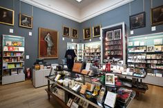 Dulwich Picture Gallery Shop #dulwichpicturegallery #art #gallery #dulwich #paintings #sirjohnsoane #exhibition #retaildesign Dulwich Picture Gallery, Entrance Hall, Antique Stores, Public Art, Retail Design, Liquor Cabinet, Art Gallery, Old Things, Architecture
