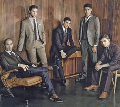 The Wanted <3 <3 but woah...What happened to them?! They look like such gentlemen, lln