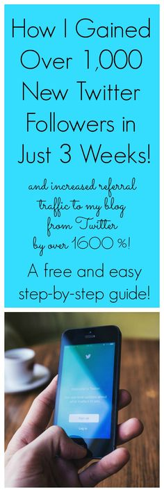 Want to grow your Twitter account quickly and increase referral traffic to your site? This free and easy step-by-step guide is all you need! Blogger | Blogger Resources | Social Media | Social Media for Bloggers | Grow your Traffic | Grow your Blog | Twitter | Followers | Tweets | Gain Twitter Followers | Retweets