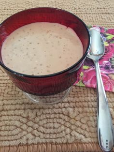 Maple Tapioca Pudding Tapioca Pudding, Cheeseburger Chowder, Delicious Desserts, Soup, Tasty, Favorite Recipes, Foods, Ethnic Recipes, Food Food