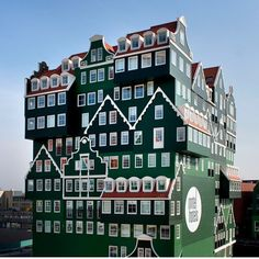 I have stayed here, very nice and pretty interior. Inntel Hotels Amsterdam Zaandam, so cool !