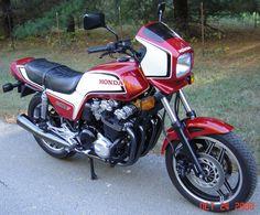 1983 Honda CB1100F....This is the pre-1984 motorcycle tariff Nighthawk. 700cc's is pretty fast.