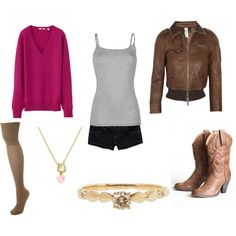 """Amy Pond (Casual)"" by doctorwhofashion on Polyvore"