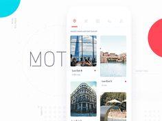 100 Best Mobile App Interaction on Behance Best Ui Design, Web Design, App Ui Design, Mobile App Design, Interface Design, Layout Design, Graphic Design, Tabs Ui, Drink App