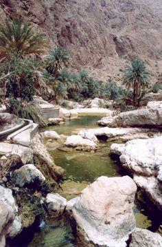Oman - Wadi Shab, hike