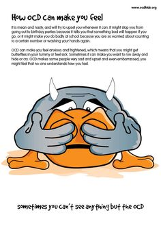 A children's guide to Obsessive Compulsive Disorder by OCD-UK - Meet Jolly and Grump