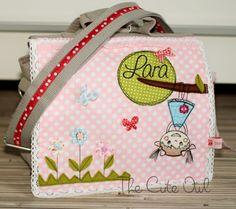 *Kopfüber* KindergartenRucksack/Tasche in einem  von The Cute Owl auf DaWanda.com