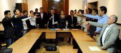 Toma Protesta Hernández Fraguas a nuevos Agentes Municipales y de Policía de Oaxaca de Juárez