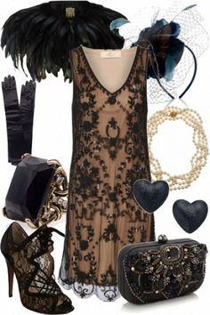 Black dress in dead sea 600