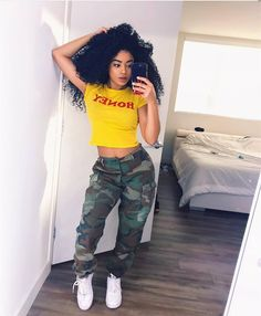 Trendy Casual Styles for the Ladies Today we are present to you some trendy collection of casual outfits which are beautiful which you can steal there styles while hanging with friends … Dope Outfits, Swag Outfits, Trendy Outfits, Fall Outfits, Summer Outfits, Baddies Outfits, Teen Fashion, Fashion Outfits, Womens Fashion