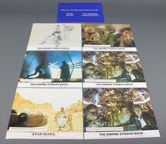 Lot 346, 20th Century Fox, 7 film colour lobby cards for Star Wars Empire Strikes Back, est £30-50
