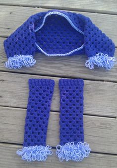 Crochet Creations: Legwarmers and shrug set- free pattern!