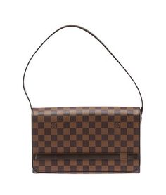 Louis Vuitton Damier Ebene Tribeca Long (28346) Shoulder Bag. Get one of the hottest styles of the season! The Louis Vuitton Damier Ebene Tribeca Long (28346) Shoulder Bag is a top 10 member favorite on Tradesy. Save on yours before they're sold out!