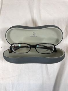 61b4e17d97c Vera Wang Prescription Eyeglass Frames 49-15-135 V29 BT Brown Tortoise  Plastic