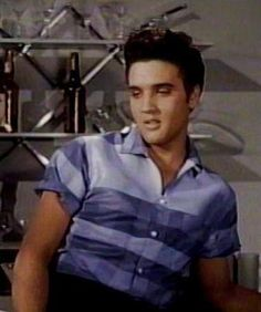 Elvis in the movies  Jailhouse Rock, Great Movie and songs! And Acting, he had the goods!