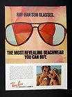 1958 Ray Ban sunglasses 4 styles vintage print ad   eBay