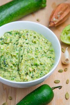 Roast Zucchini Salsa