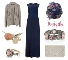 Funky Winter Hijab Outfits 2013