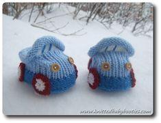 Free Baby Booties Knitting Pattern | Booty knitting knitting pattern