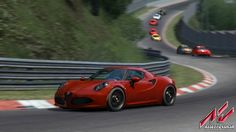 Kunos Simulazioni have just released a fresh batch of awesome Assetto Corsa screenshots showing off the Alfa Romeo 4C at all different angles. About a week ago we saw the trailer for the Alfa Romeo 4C, and now we have several screenshots to salivate over. The screenshots show the car at the famous Nurburgring track (which is laser scanned in