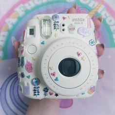 My Fujifilm Instax Mini 8 - Instax Camera - ideas of Instax Camera. Trending Instax Camera for sales. - My Fujifilm Instax Mini 8 Polaroid Camera Case, Polaroid Instax Mini, Cute Camera, Fujifilm Instax Mini 8, Camara Fujifilm, Photography Camera, Belle Photo, Minis, Polaroids