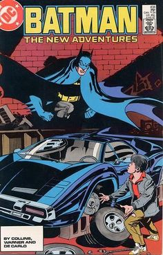 Batman 408 Jason Todd. One of my favorite bat Mobile's