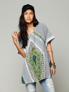 patchwork meadow tunic | free people
