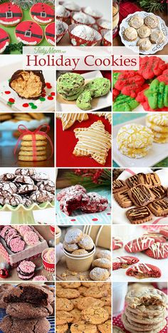 Holidays and traditions go hand in hand. Baking holiday cookies for Christmas would have to top my list as a favorite family tradition for generations.Everyone has their favorite cookie. Click to get the recipes for some of our favorite holiday Chrismas cookies at TidyMom.net