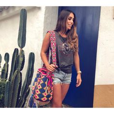 Laura rocking our  Liona Bag  ~ www.chilabags.com