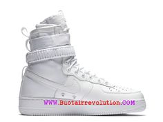 new product a8605 f3ac5 Nike Air Force 1 Takayuki rétro Chaussures LifeStyle Nike Pas Cher Pour  Homme Blanc 903270-
