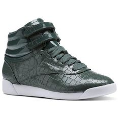 NEW REEBOK WOMENS FREESTYLE HI CRACKLE  fashion  clothing  shoes   accessories  womensshoes 7dcac3525