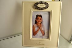 A frame to remember a First Communion.