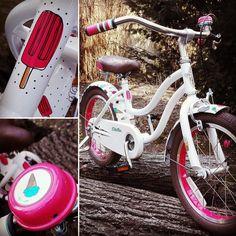 Bicyklik Electra pre malu damu vyladeny do najmensich detailov. #electrabicycles #electrasoftserve #cool #kids #bike #detskybicykel #bajkujemsbajkulou #bajkula