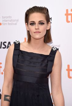 """Kristen Stewart Photos Photos - Actress Kristen Stewart attends the """"Equals"""" premiere during the 2015 Toronto International Film Festival at the Princess of Wales Theatre on September 13, 2015 in Toronto, Canada. - 2015 Toronto International Film Festival - 'Equals' Premiere"""