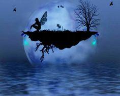 Fairy by moonlight
