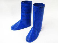 Plastic rain boots                                                       …