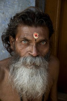 """Yogi"". Yogi as captured in Varanesi in India. (Photo and caption by Erik Tyler/National Geographic Traveler Photo Contest)http://avaxnews.net/appealing/ALL_2012_National_Geographic_Traveler_Photo_Contest_in_HIGH_RESOLUTION_Part4_Travel_Portraits_Weeks_1-6.html"