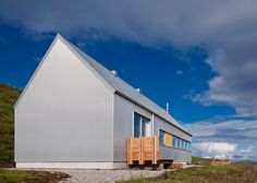 The Tinhouse by Rural Design is a self-built home on a Scottish isle