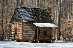 pictures of cabins in the snow | Cabin in the Snow | Flickr - Photo Sharing!