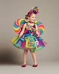 candy fairy girls costume