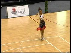Paola Fraschini World Artistic Roller Skating Championships Auckland 2012 - Carmen - Official Video